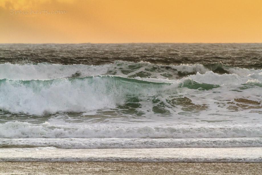 Farben des Meeres bei Regenwetter, Donnant, Belle Ile