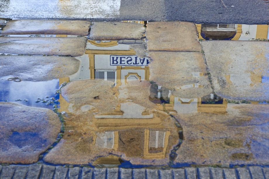 Restaurant in der Pfütze, Le Palais, Belle Ile