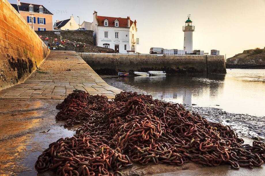 Sauzon, Belle Ile, Bretagne, Frankreich