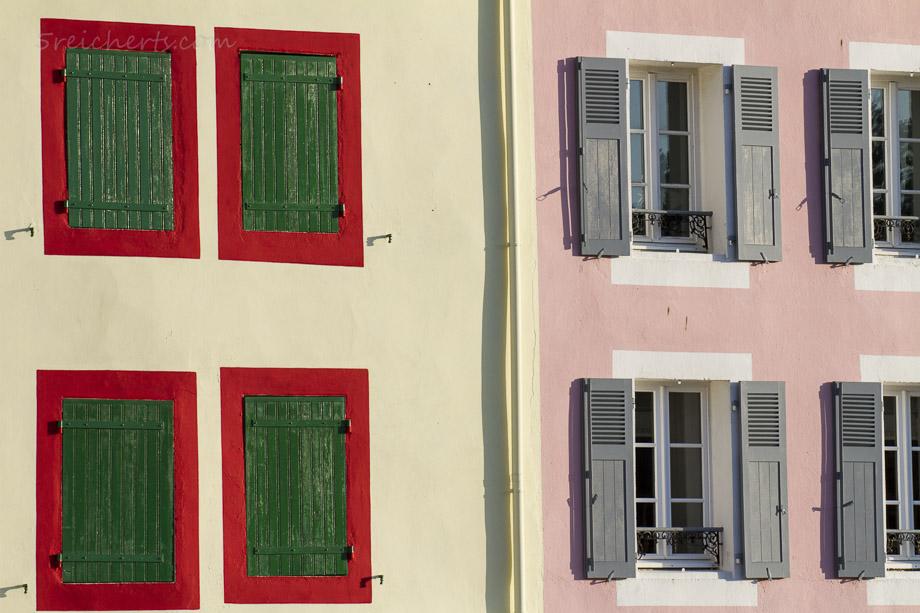 Fensterläden, Sauzon, Belle Ile