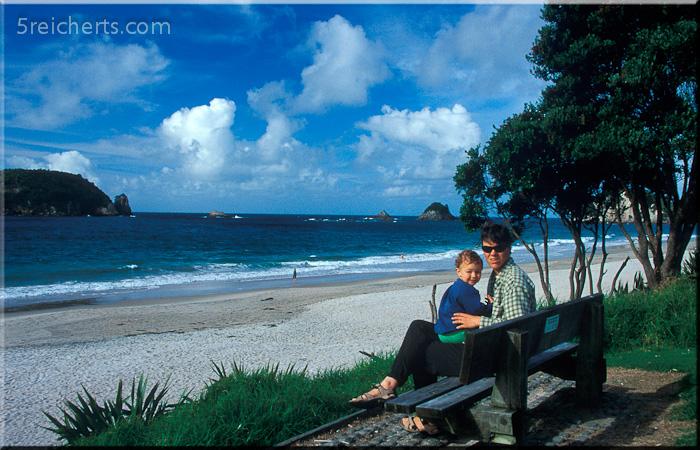 Ausblick aufs Meer , Gabi und Amy