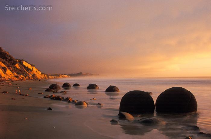 Boulders am Morgen