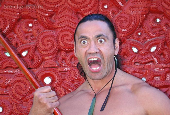 Maori Krieger, Rarotonga