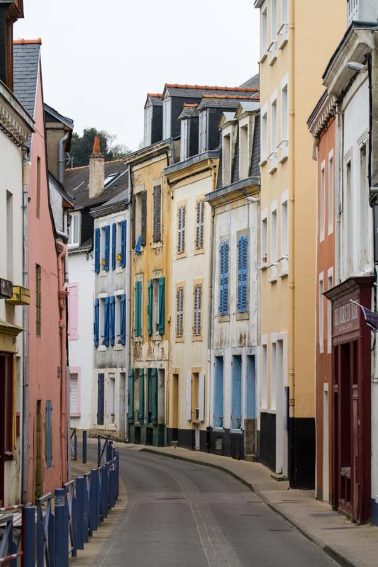 Straße in Le Palais