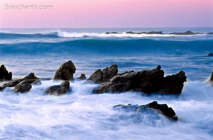 Wellen bei Kaikoura