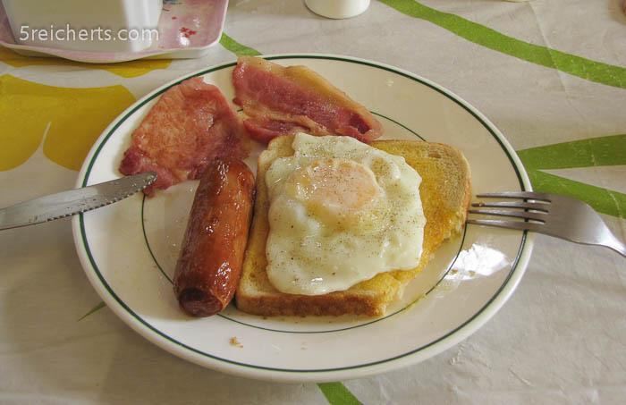 typisch englisches Frühstück