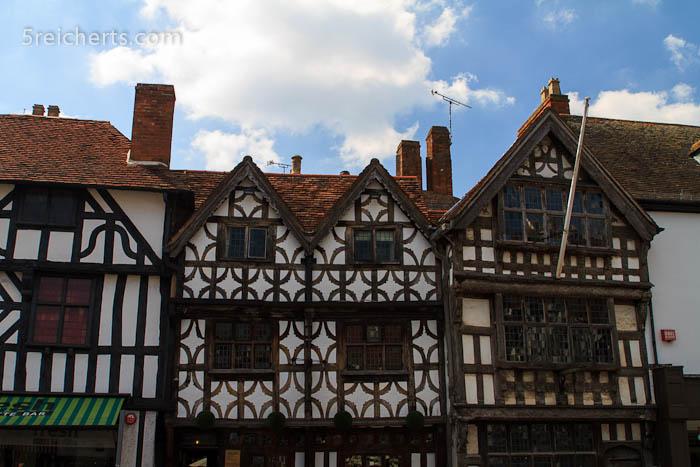 alte Häuser, Stratford, England