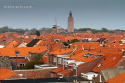 ein ganz besonderer Leuchtturm in Middleburg, Niederlande