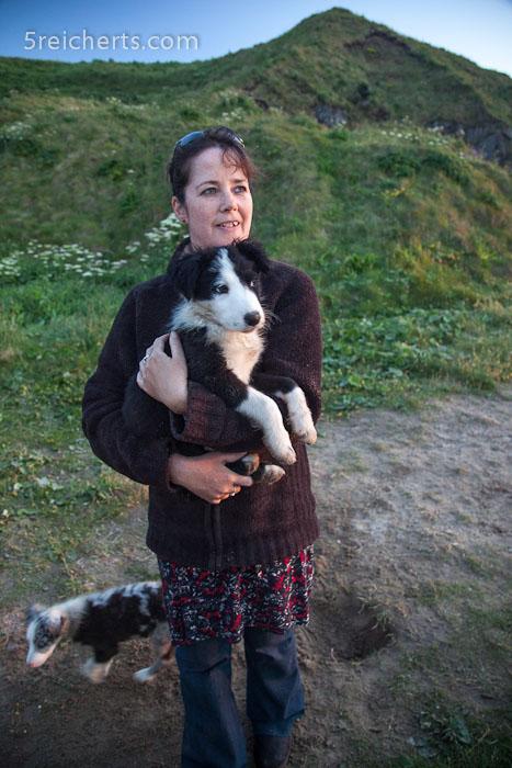 Caroline mit Badger