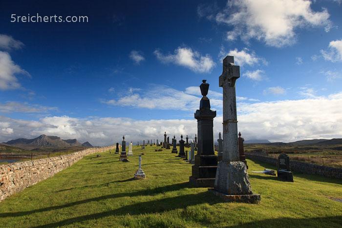 der Friedhof von Melness