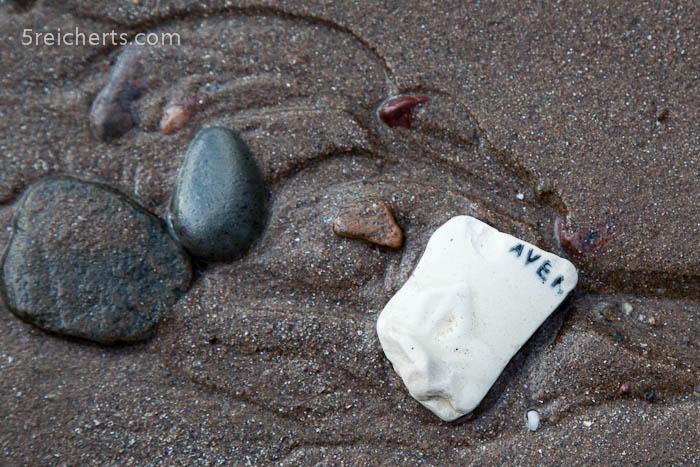 ein Gruß am Strand:-)