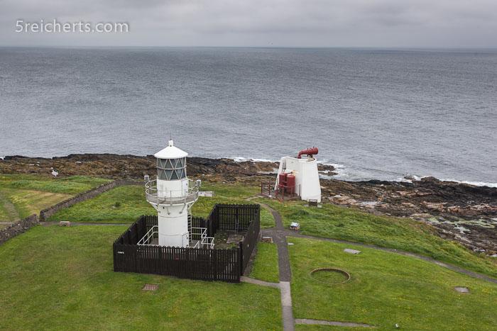 der neue Leuchtturm, der von Edinnburgh gesteuert wird