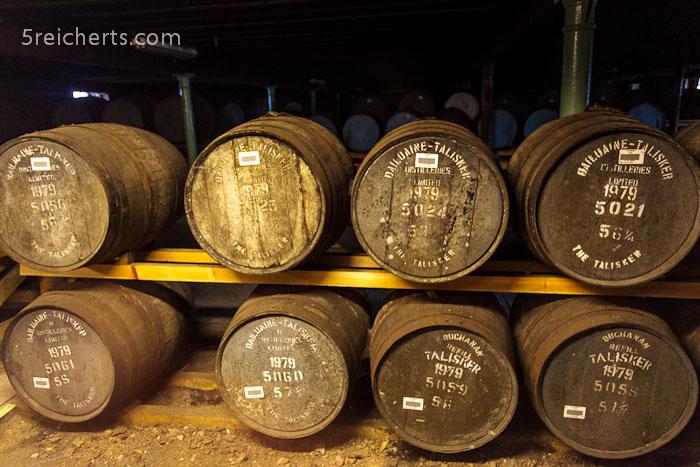 der reifende Whisky
