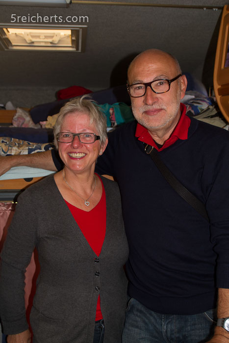 Robert und Gertje zu Besuch