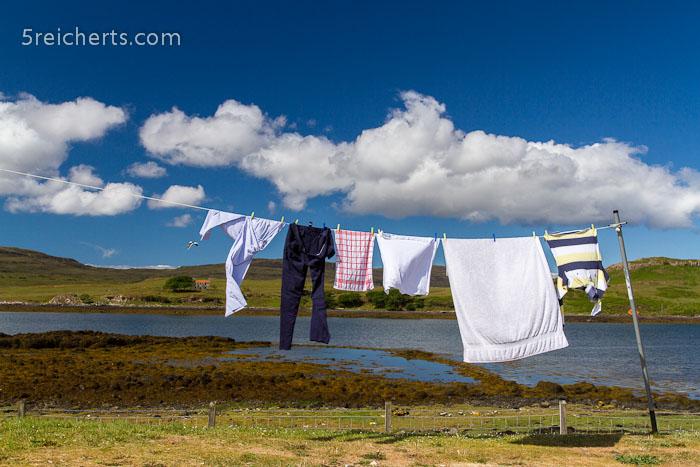Wäsche zum Trocken