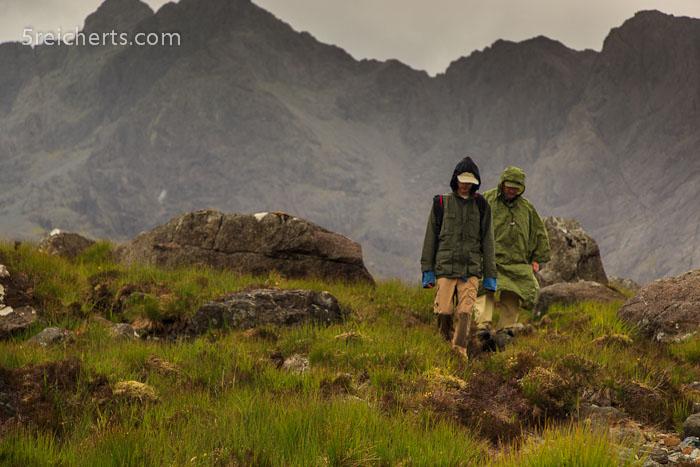 Wanderung im Regen