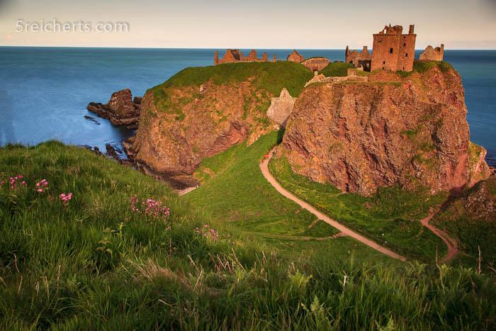 wunderbare Lage des Dunnottar Castles, Stonehaven, Schottland