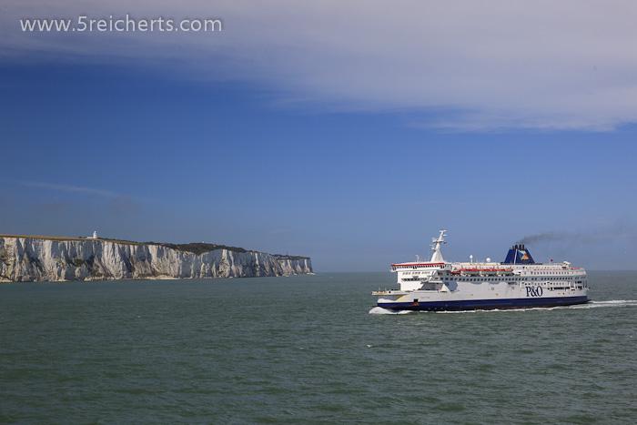 Abschied von GB und Dover