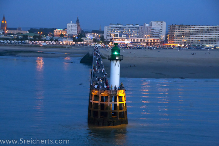 Hafeneinfaht Calais, Frankreich
