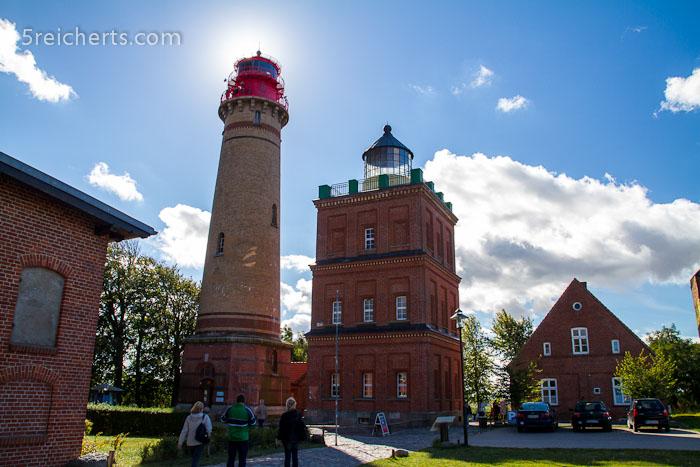 die beiden Türme am Kap Arkona, Insel Rügen
