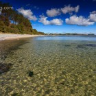 klares Wasser am altenkirchener Strand, Insel Rügen