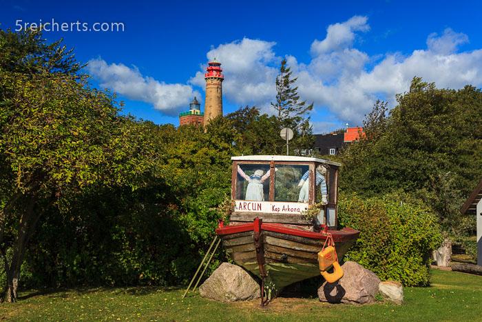 die Leuchttürme am Kap Arkona, Insel Rügen