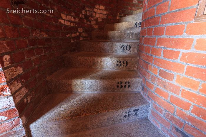 die Treppe im neuen Turm von Kap Arkona