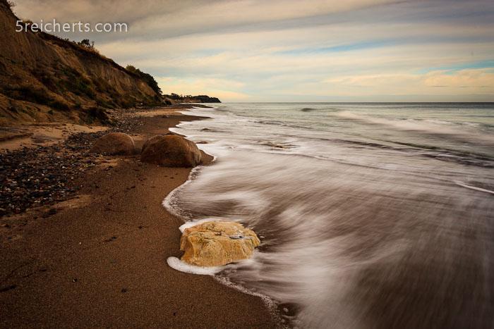 Wellen am Sandstrand:-), Insel Rügen