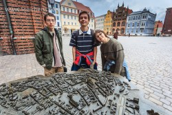 Die Kids in Stralsund