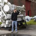 Ein 2.500 PS Schiffsdieselmotor