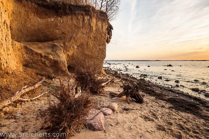 Die Küste vor der Insel Poel, Ostseeküste