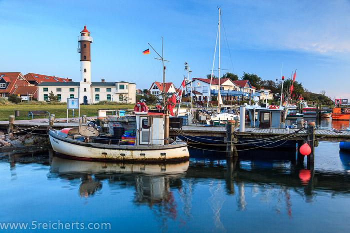 Leuchtturm und Hafen, Timmendort, Insel Poel, Ostsee