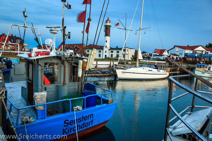 Leuchtturm und Hafen 2, Timmendort, Insel Poel, Ostsee