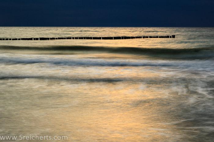 Licht über den Wolken, Ostseestrand