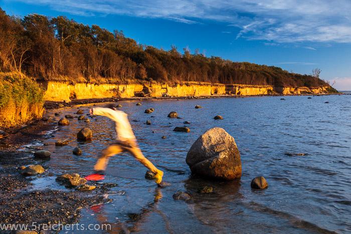 Noah und der Fels im Meer, Insel Poel, Ostsee