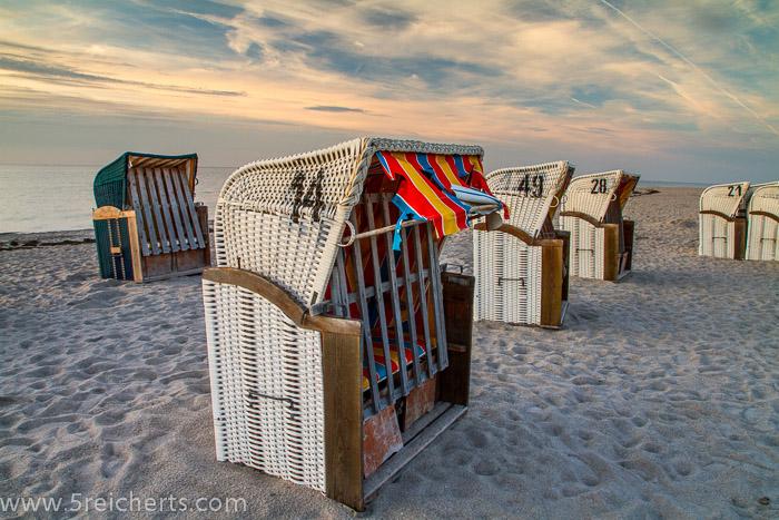 Strandkörbe, Insel Poel, Ostsee