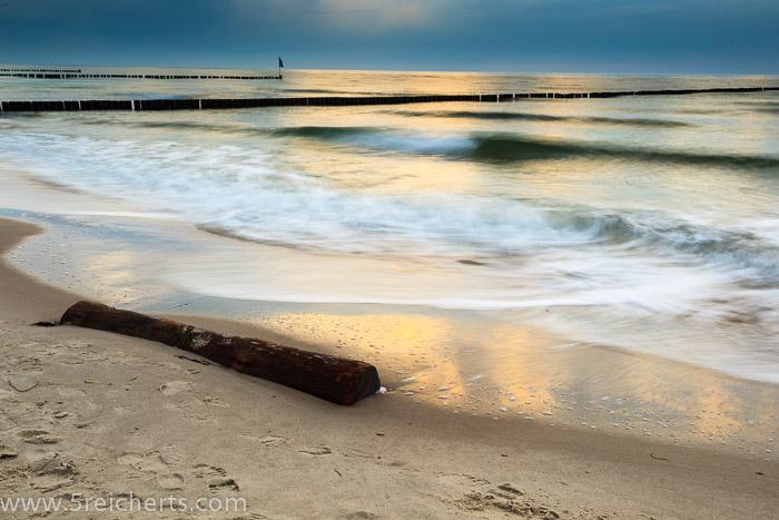 Wellen und Wolken 2, Wustrow, Ostseeküste