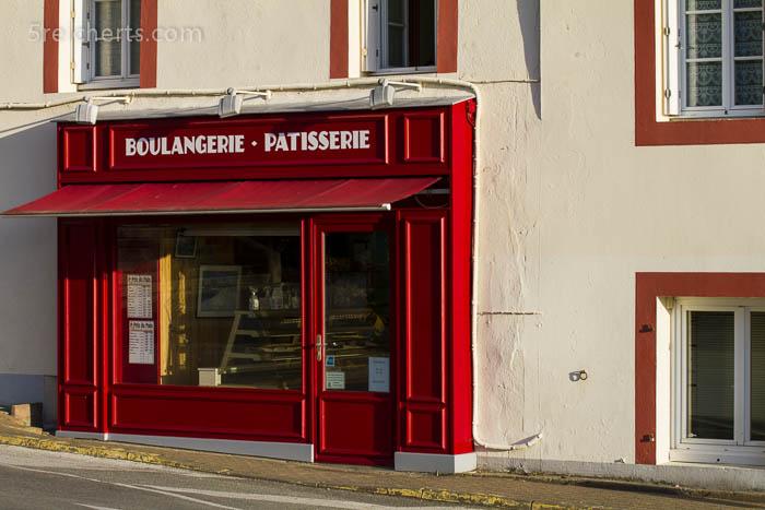 Die Bäckerei hat natürlich auch in der Vorsaison geöffnet