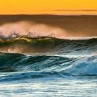 Wellen im Abendlicht, Isle of Lewis