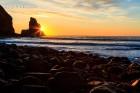 """""""Clear Skye"""" - blauer Himmel auf der Isle of Skye - Talisker Bay"""
