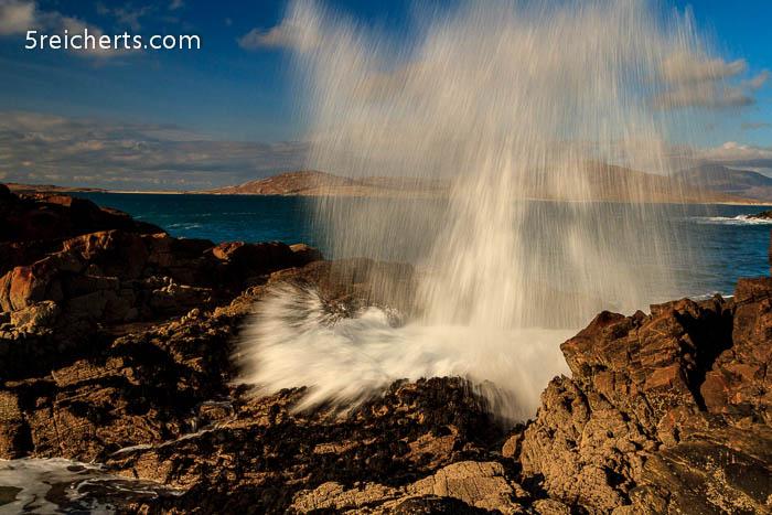 Wellengardinen, Isle of Harris