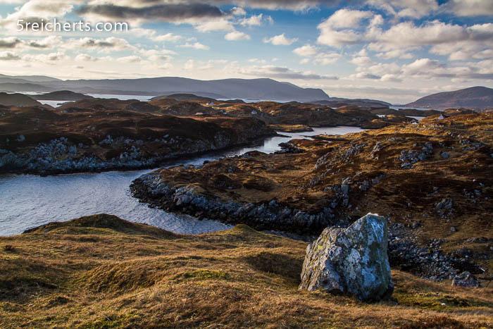 Blick über die Insel Scalapy