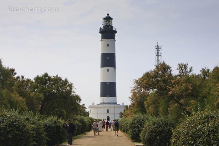 Pfad zum Leuchtturm, Ile de Oleron