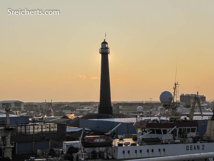 Leuchtturm in Amsterdam