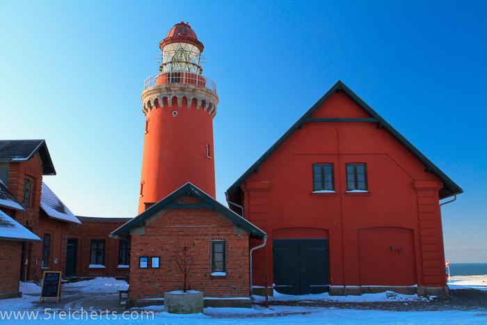 Der Leuchtturm von der anderen Seite, Bovbjerg, Dänemark