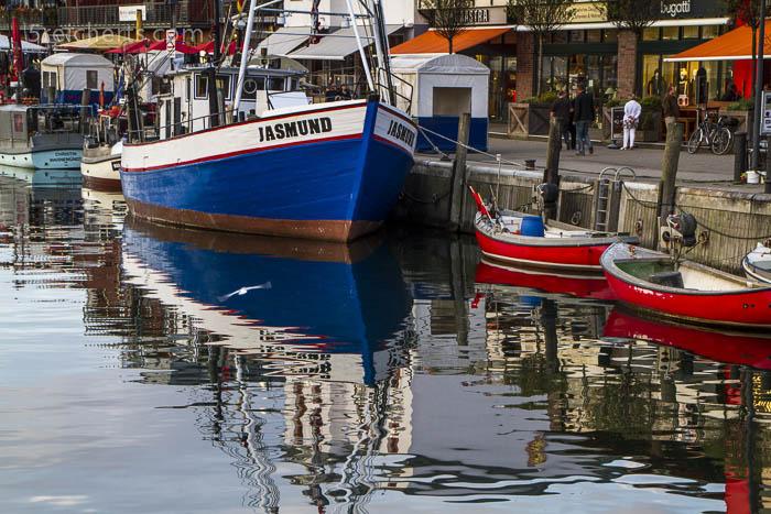 Der kleine Hafen von Warnemünde