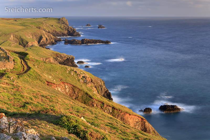 Küste, Lizard Peninsula, Cornwall, Großbritannien