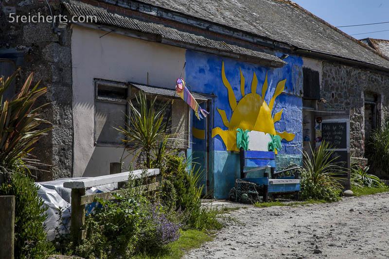 Ambiente auf der Farm, Cornwall