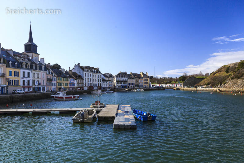 Im hinteren Hafen von Le Palais, Belle Ile, Bretagne