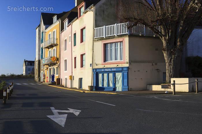 Hauptstraße, Sauzon, Belle Ile, Bretagne